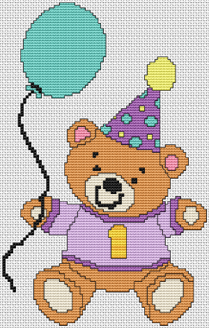 First Birthday Bear