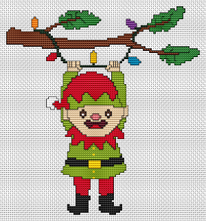 Hanging On For Christmas - Elf