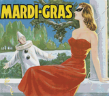 Mardi-Gras Label