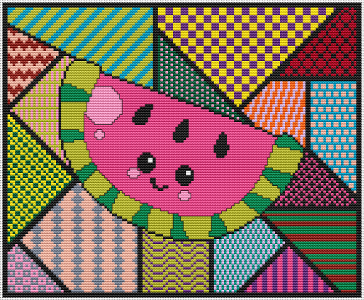 Pop Art Watermelon