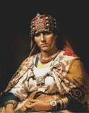 Portrait of a Kabylie Woman, Algeria