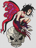 Red Fairy and Skull