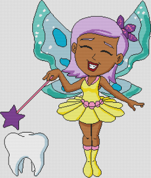 Tooth Fairy Rose