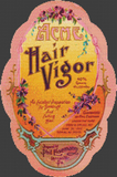 Acme Hair Vigor Label - Pattern and Print