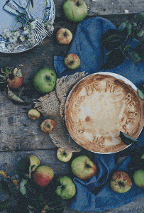 Apple Pie - Pattern and Print