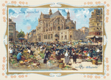 Au Bon Marche Trading Card - Pattern and Print