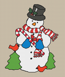 Country Snowman - Pattern and Print