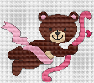 Cupid Bear - Pattern and Print