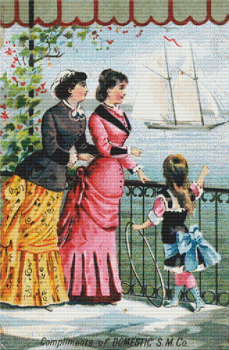 Domestic Sewing Machine Co. 2 Trading Card