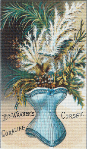 Dr. Warner's Coraline Corset Trading Card - Pattern and Print