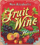 Fruit Wine Label - Pattern and Print