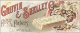 Griffin and Skelley Company Trading Card - Pattern and Print