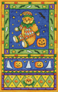 Jester Bear - Pattern and Print