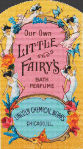 Little Fairy's Bath Perfume Label
