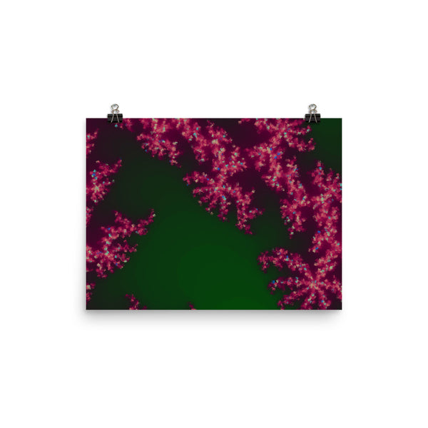 Pink Coral Photo Paper Poster