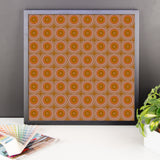 Autumn Dots Framed Photo Paper Poster - Pattern and Print