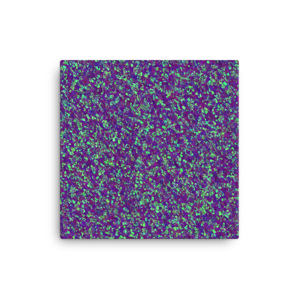 Painter - Deep Purple 16 x 16 Canvas Print - Pattern and Print