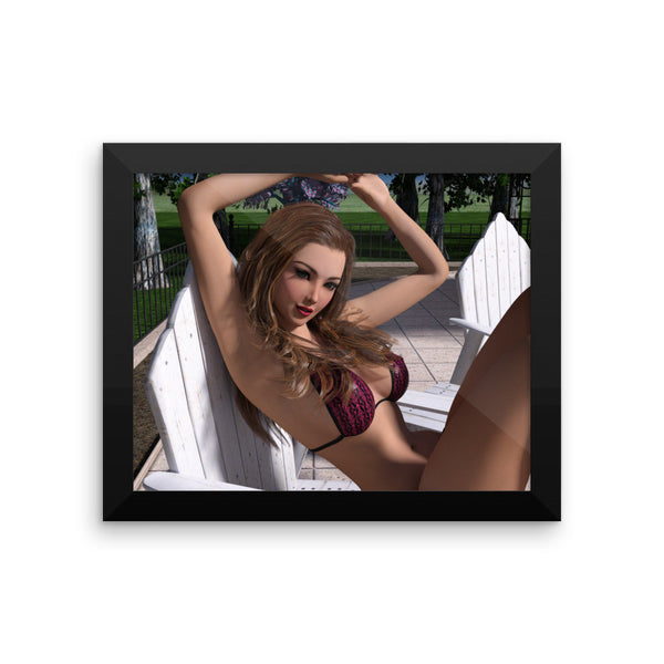 Stretch Framed Photo Paper Poster