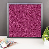 Raspberry Framed Photo Paper Poster