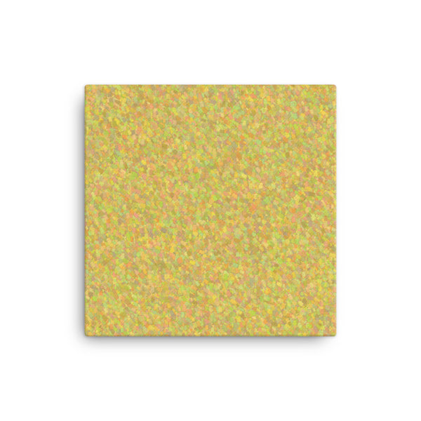 Painter - Yellow 16 x 16 Canvas Print