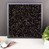 Black Licorice Framed Photo Paper Poster - Pattern and Print