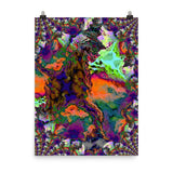 Bright Lights Photo Paper Poster - Pattern and Print