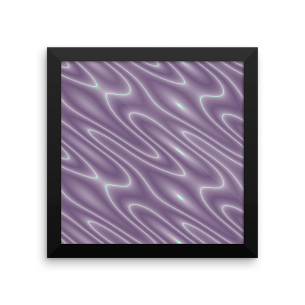 Into the Night Framed Photo Paper Poster - Pattern and Print