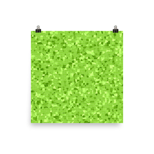 Green Apple Photo Paper Poster