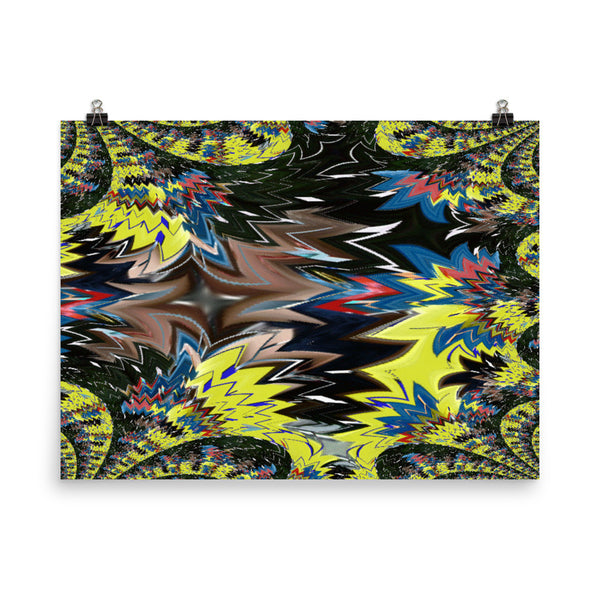 Airplane Matte Poster - Pattern and Print