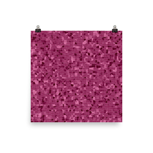 Raspberry Photo Paper Poster