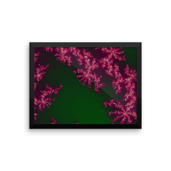 Pink Coral Framed Photo Paper Poster