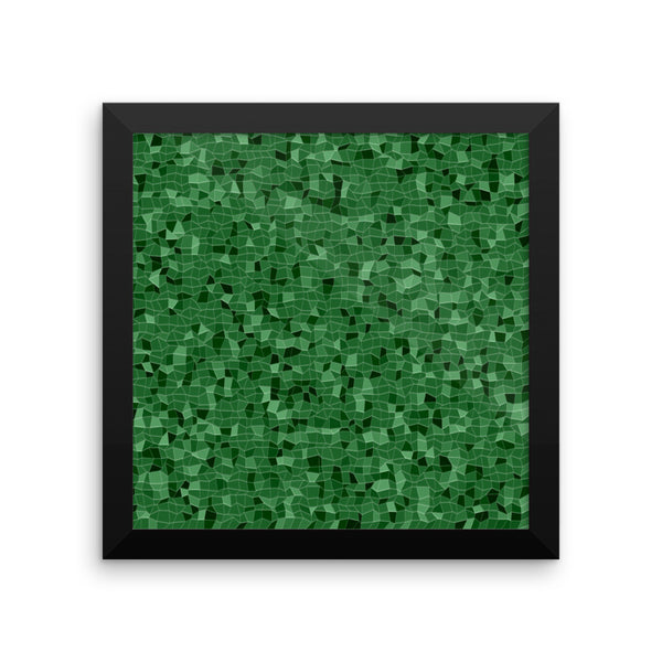 Emerald Framed Photo Paper Poster