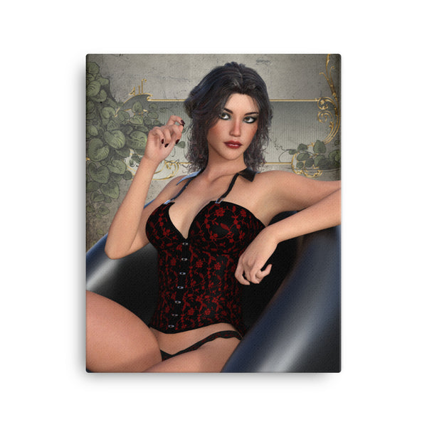 Pin Up 003 Canvas