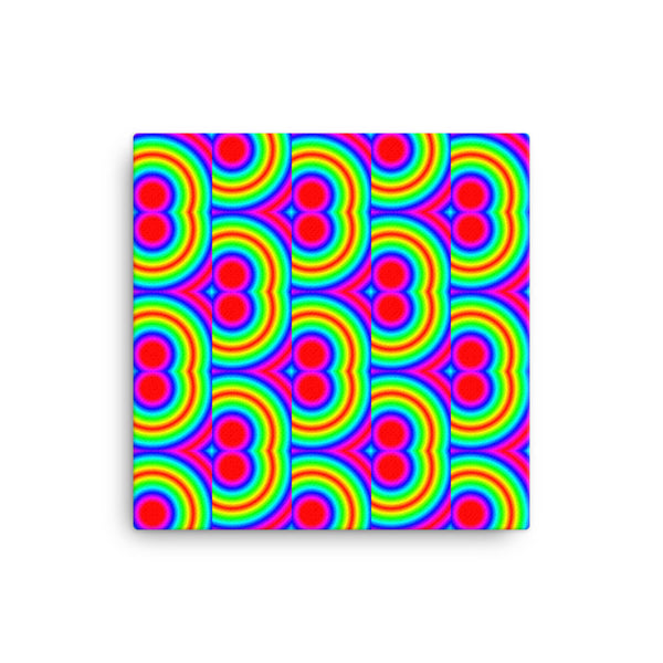 70s Throwback 12x12 Canvas Print - Pattern and Print