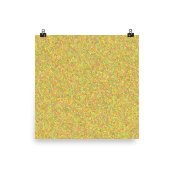 Painter - Yellow Photo Poster Paper