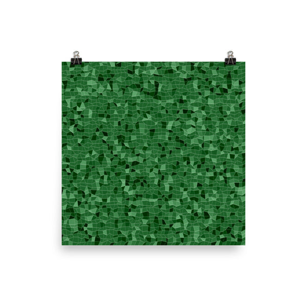 Emerald Photo Paper Poster