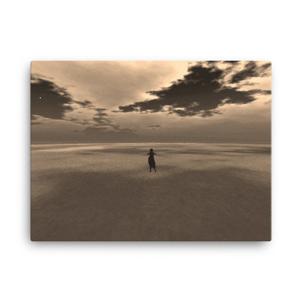 Desert 24 x 18 Canvas Print - Pattern and Print