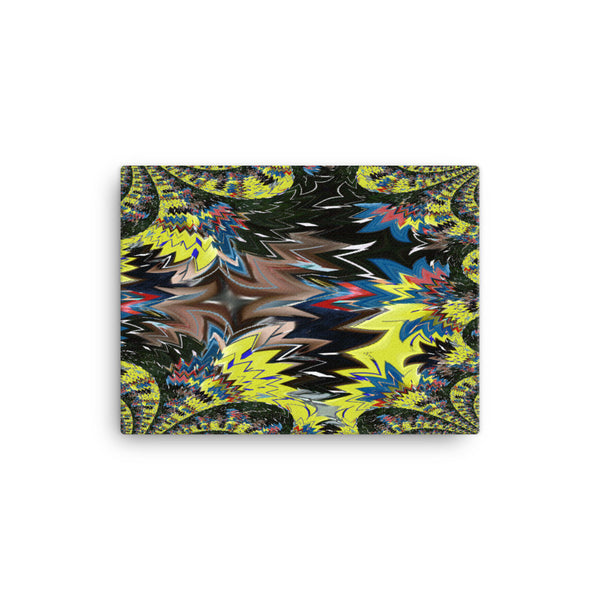 Airplane 16 x 12 Canvas Print - Pattern and Print