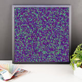 Painter - Deep Purple Framed Photo Paper Poster - Pattern and Print