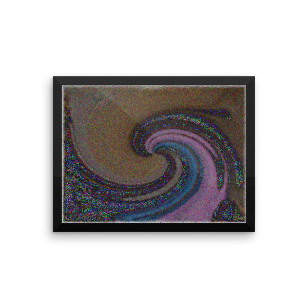 Wave Framed Photo Paper Poster