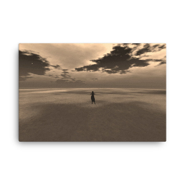 Desert 36 x 24 Canvas Print - Pattern and Print