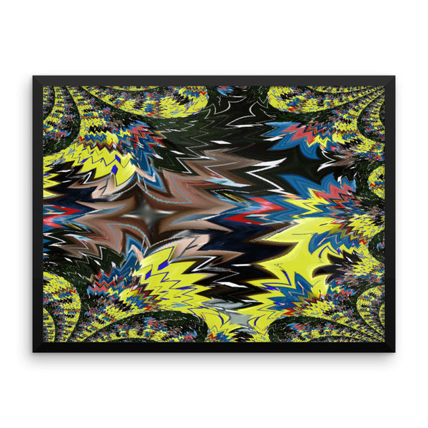 Airplane Framed Matte Poster - Pattern and Print