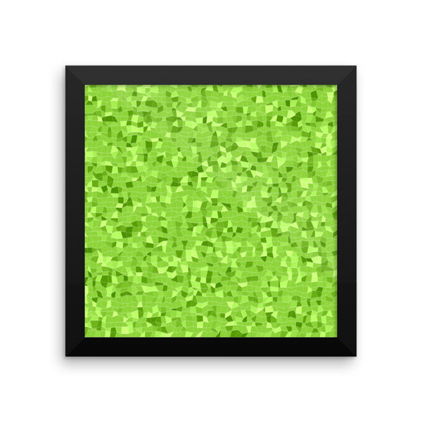 Green Apple Framed Matte Poster