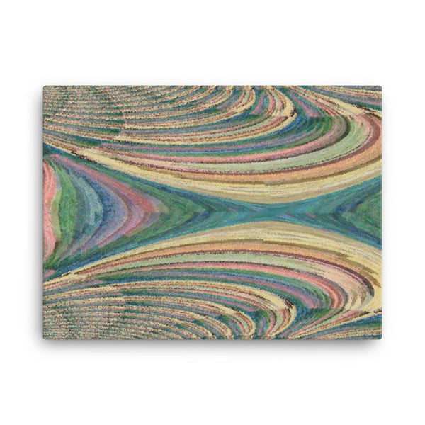 Yarn 24 x 18 Canvas Print