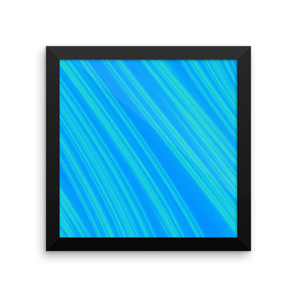 Windy Framed Photo Paper Poster