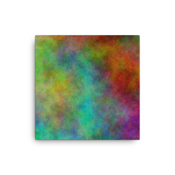 Colorful Space 16 x 16 Canvas Print - Pattern and Print