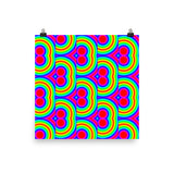 70s Throwback Photo Paper Poster - Pattern and Print