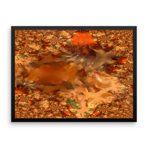 Baby Gator Framed Photo Paper Poster