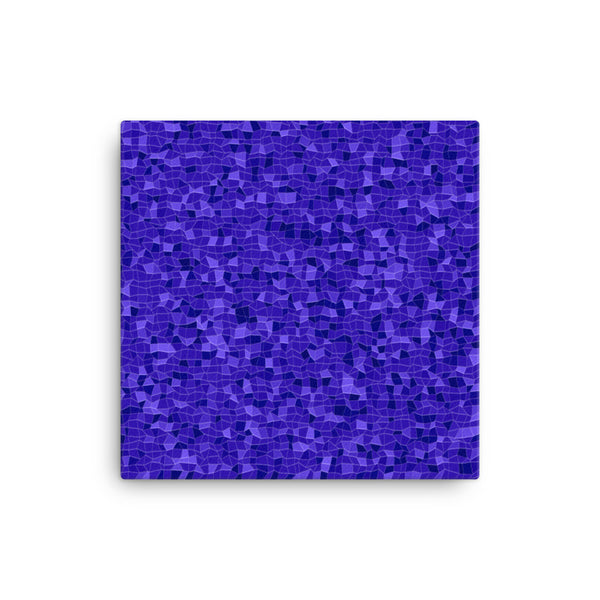 Blueberry 12 x 12 Canvas Print - Pattern and Print