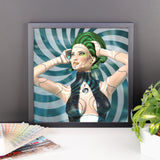 Artificial Beauty Framed Matte Poster - Pattern and Print